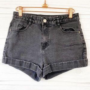 Zara Trafaluc Denim Shorts 06 Rolled up